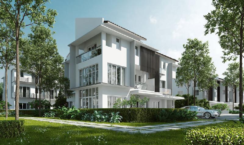 Dịch vụ thiết kế thi công hoàn thiện biệt thự Park City Hà Nội