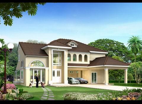 Thiết kế biệt thự sân vườn trên diện tích 250 m2