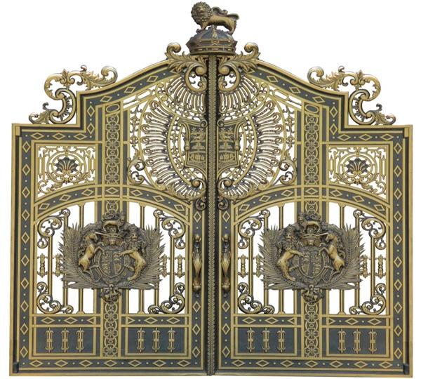 Thiết kế, lắp đặt cổng nhôm đúc, cổng biệt thự tại Bắc Ninh