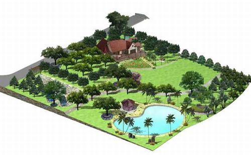 Một số tiêu chí và mẫu nhà vườn đẹp