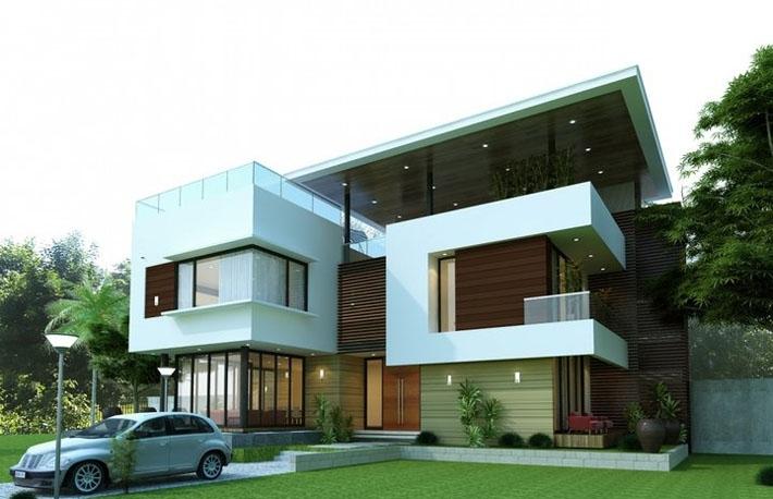 Thiết kế biệt thự 2 tầng trên diện tích 12x14m