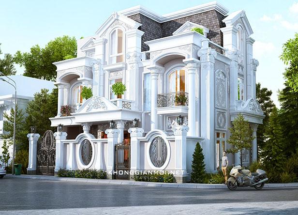 Thiết kế biệt thự cổ điển tại Gò Vấp