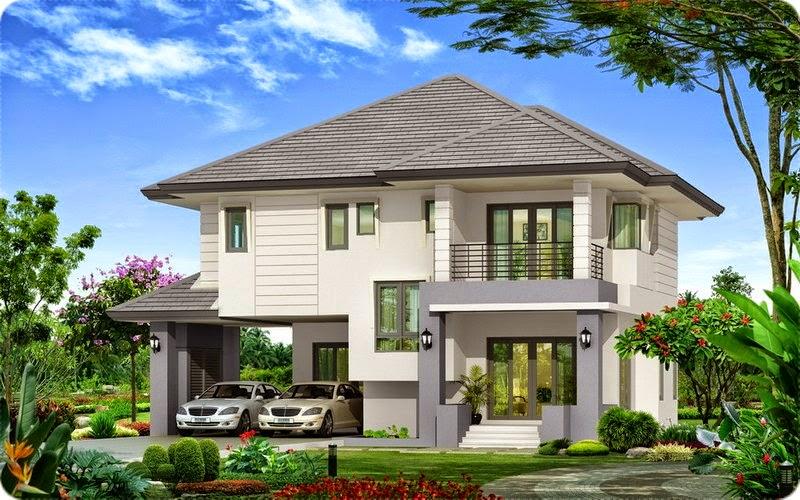 Tư vấn xây biệt thự, thiết kế biệt thự mái thái diện tích 15x20m