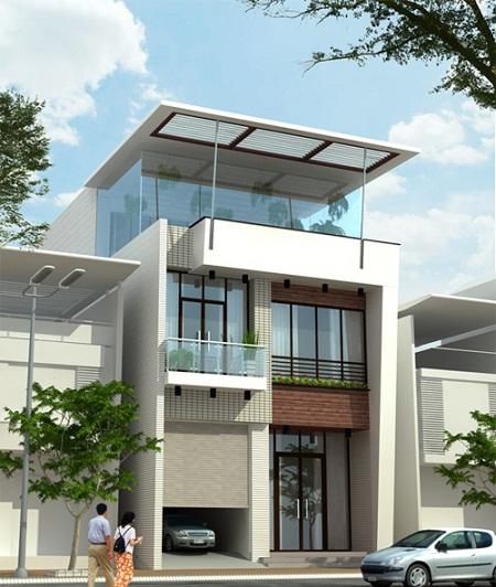 Tư vấn thiết kế biệt thự phố tại Hà Đông - Hà Nội