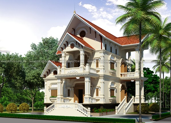 Thiết kế biệt thự, thi công biệt thự trọn gói tại Lào Cai