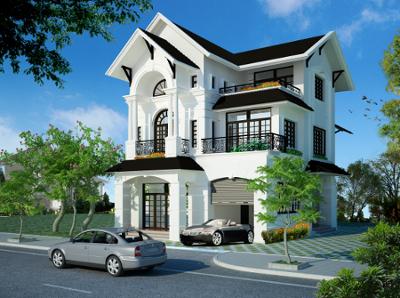 Tư vấn thiết kế biệt thự tại Thái Nguyên
