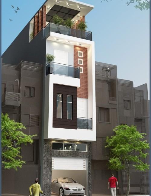 Mẫu thiết kế nhà ống,thiết kế nhà phố -mẫu nhà 05