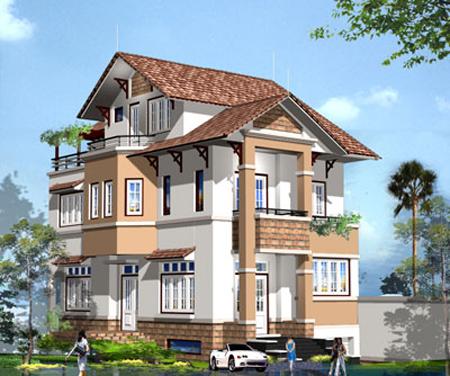 Tư vấn thiết kế biệt thự tại Lai Châu