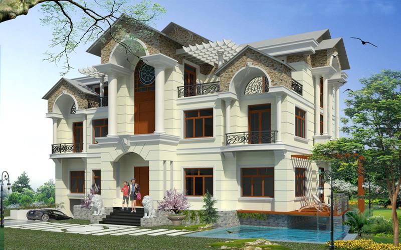 Tư vấn thiết kế biệt thự tại Sơn La
