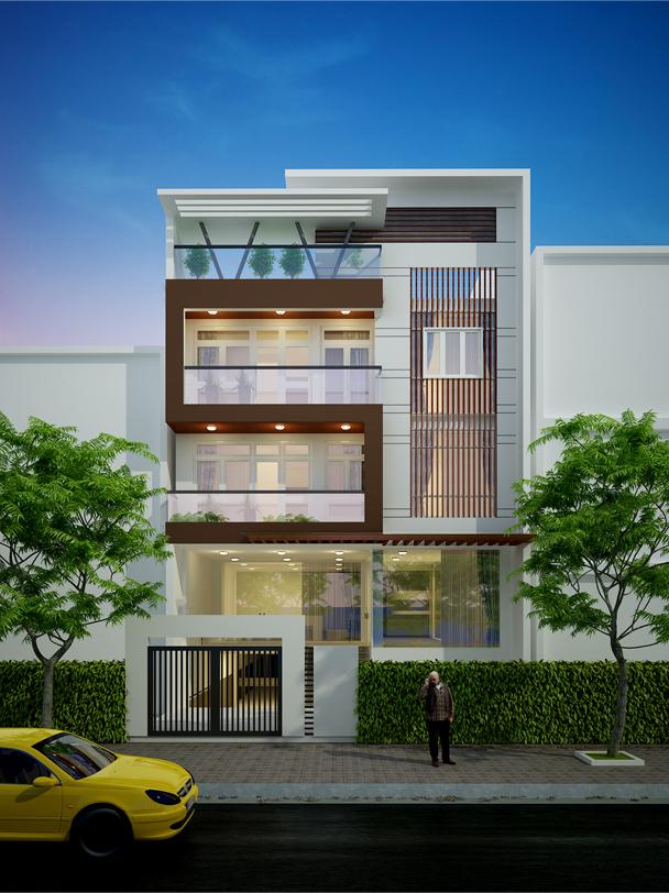 Thiết kế, thi công xây nhà trọn gói  tại Quận Tây Hồ