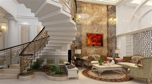 Thiết kế nội thất cho biệt thự 3 tầng