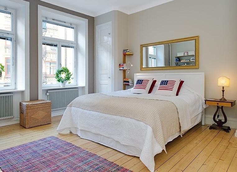 Thiết kế nội thất phòng ngủ trong căn hộ chung cư