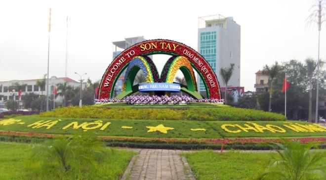 Phê duyệt quy hoạch chung Thị xã Sơn Tây đến năm 2030
