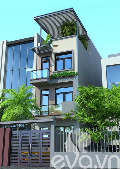 Thiết kế nhà phố 5x18m