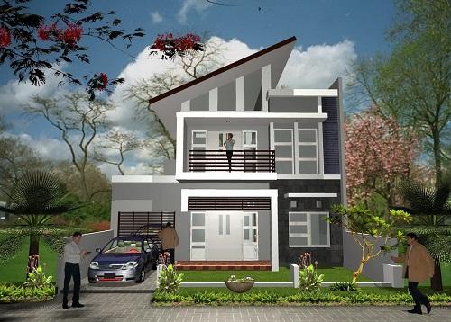 Thiết kế nhà đẹp tại Quận 6-TPHCM