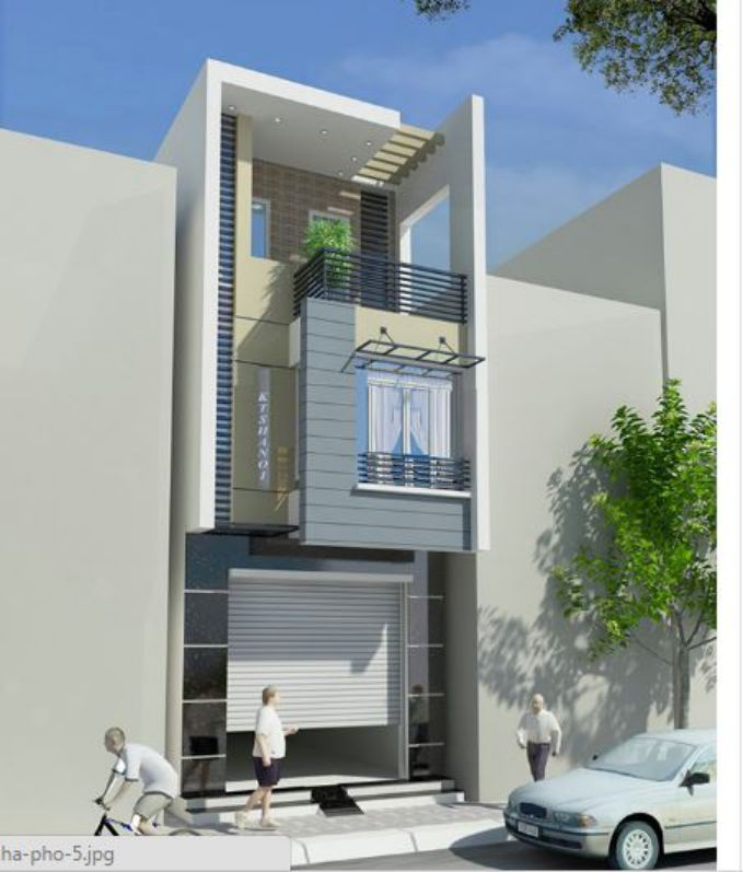 Tư vấn thiết kế nhà phố hiện đại