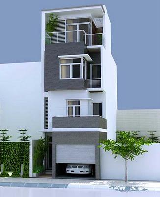 Thiết kế nhà phố -thiết kế nhà 50m2 tại Hà Đông