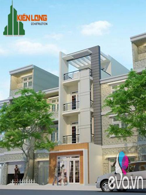 Tư vấn thiết kế nhà phố diện tích 72m2